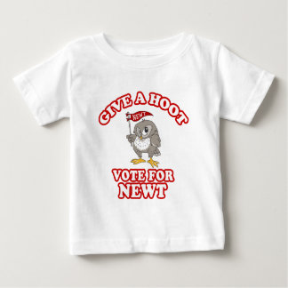 Give A Hoot Vote For Newt Shirt