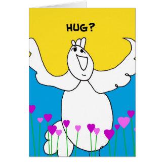 Give a Hug Notecard