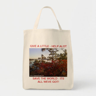 Give a little - Autum Tote Bag