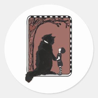 give A little love Round Sticker