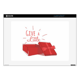 """Give A Little 15"""" Laptop Skins"""