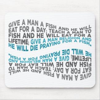Give a man a fish mousepad