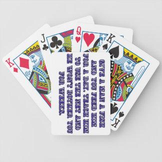 Give a man a fish card deck