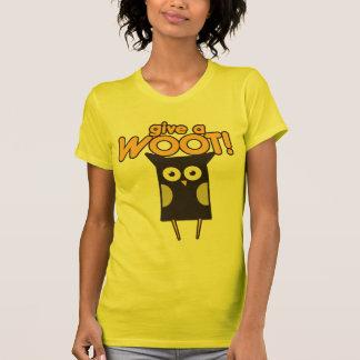 Give a Woot Hoot Owl Tee Shirt