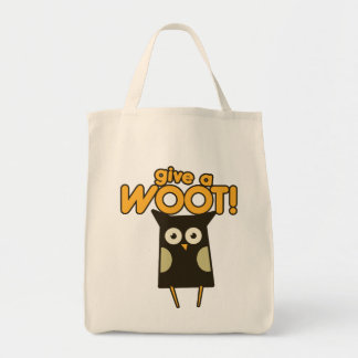 Give a Woot Hoot Owl Tote Bag