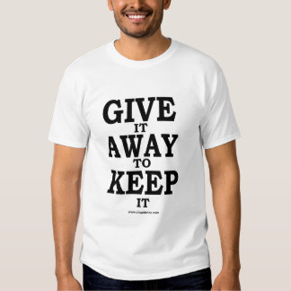give away tshirts