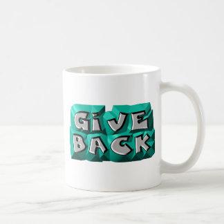 Give Back Classic White Coffee Mug