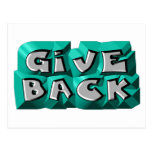 Give Back Post Cards
