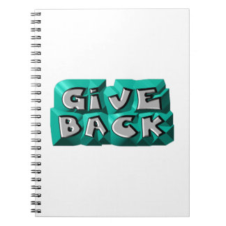 Give Back Spiral Notebooks