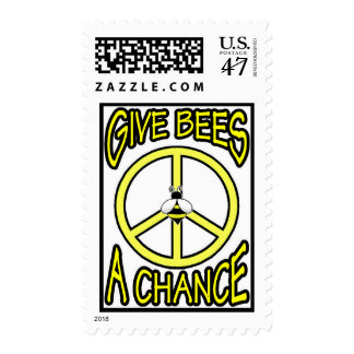 Give Bees A Chance Stamp