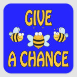 Give Bees A Chance Sticker