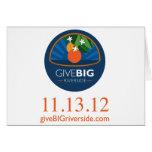 Give BIG Riverside Card