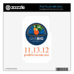 Give BIG Riverside iPod Touch 4G Skin