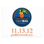 Give BIG Riverside Postcards