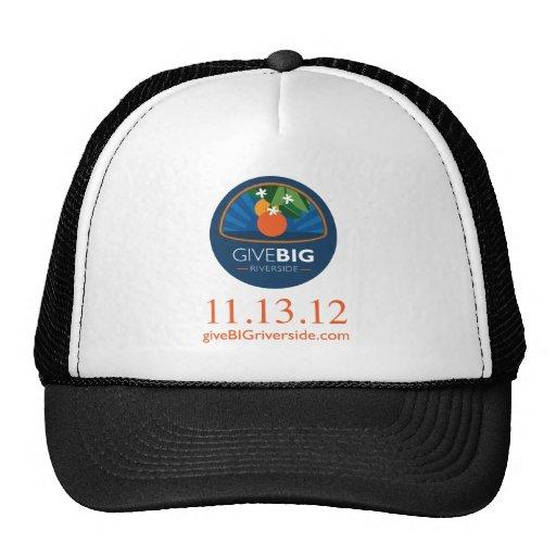 Give BIG Riverside Shirt Trucker Hat