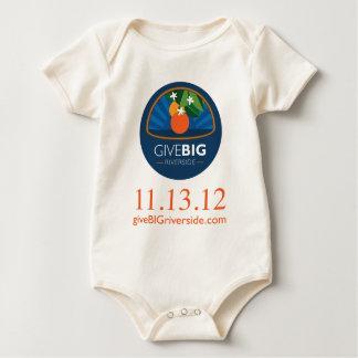 Give Big Riverside Wear Baby Bodysuit