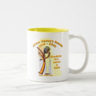 Give Birth to a Nation Two-Tone Coffee Mug