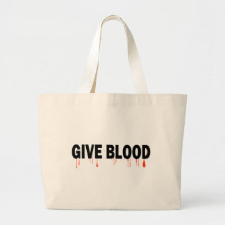Give Blood (Blood) Canvas Bags
