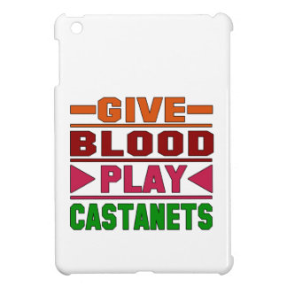 Give Blood Play Castanets. iPad Mini Cover