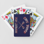 Give Blood Play Hockey Playing Cards Bicycle Playing Cards
