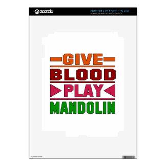 Give Blood Play mandolin. Skin For iPad 3