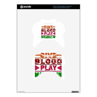 Give Blood Play mandolin. Xbox 360 Controller Decal