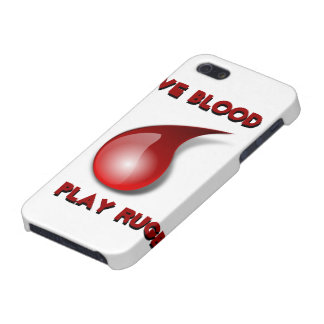 Give Blood, Play Rugby iPhone SE/5/5s Cover