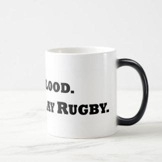 Give Blood. Play Rugby. Magic Mug