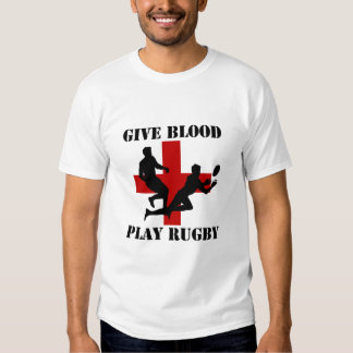 Give Blood Play Rugby Shirt