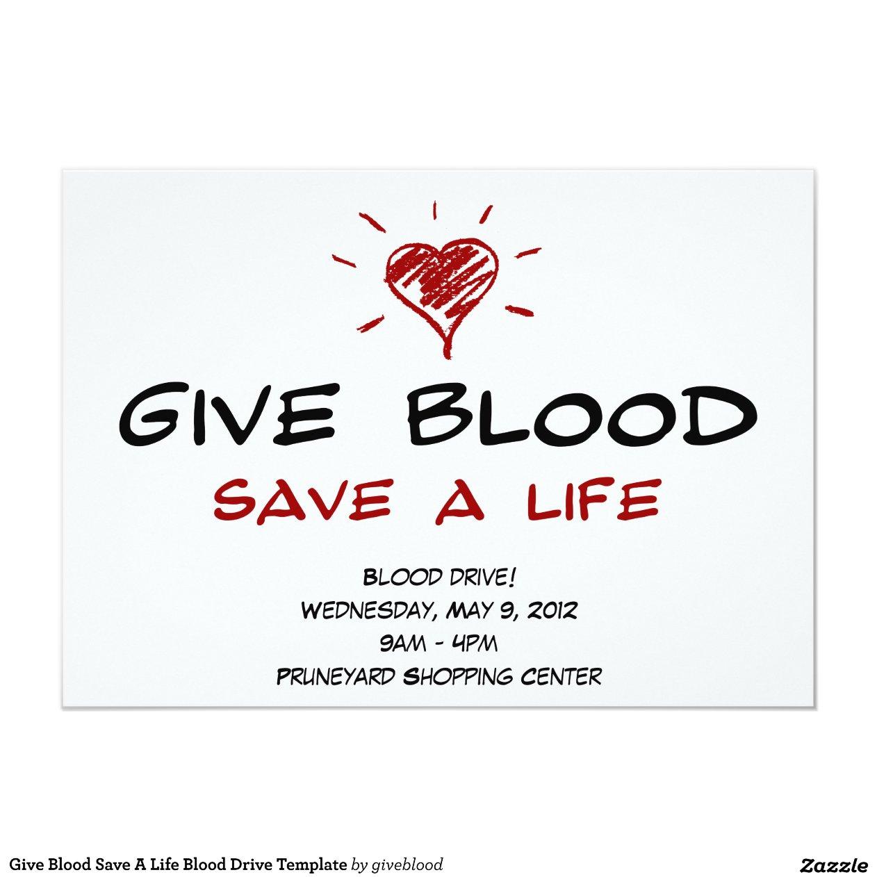 blood drive essay