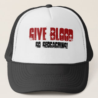 Give Blood Trucker Hat