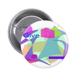 Give 2 Inch Round Button