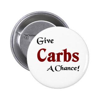 Give carbs a chance pins
