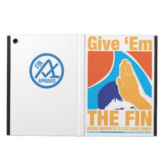 Give Em Fin iPad Case