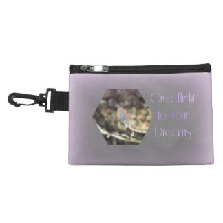 Give Flight to your Dreams Butterfly Accessory Bag