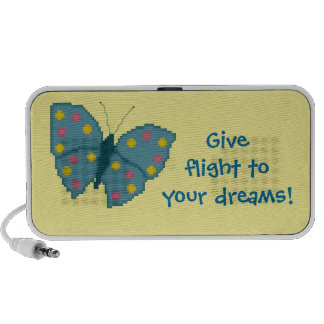 Give flight to your dreams! Butterfly Speaker