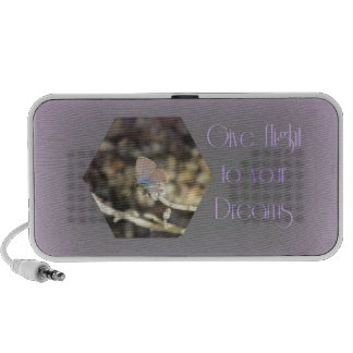 Give Flight to your Dreams Butterfly Speaker