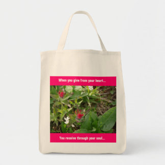 Give From Your Heart Tote Bag