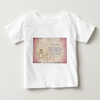 Give Glory to God Poem by Kathy Clark Baby T-Shirt