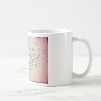 Give Glory to God Poem by Kathy Clark Coffee Mug