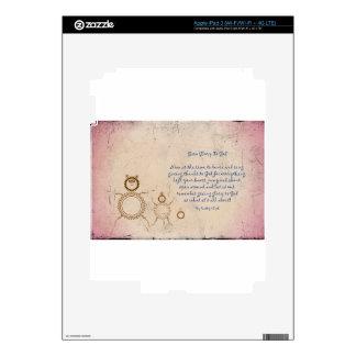 Give Glory to God Poem by Kathy Clark iPad 3 Skin