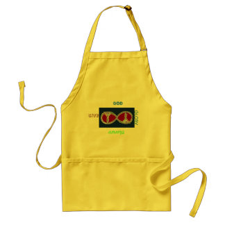 Give God his Glory and rejoyce in Him Adult Apron
