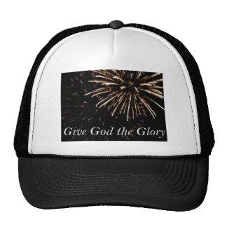 give God the Glory Hats