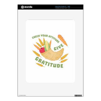Give Gratitude iPad Decal