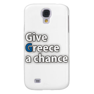 Give Greece a chance Galaxy S4 Covers