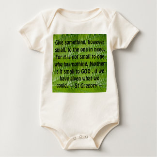 give infant onsie creeper
