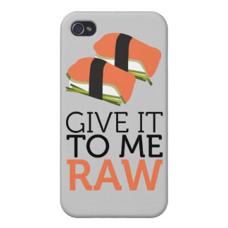 give it to me raw iPhone 4/4S case