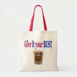 Give it your Best Las Vegas Shot glass Budget Bag