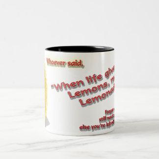 Give Lemons Coffee Mug