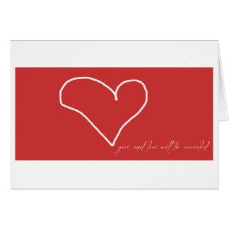 Give Love Card
